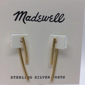 Madewell Stembend Earrings, NWT